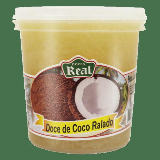 Doce de coco ralado