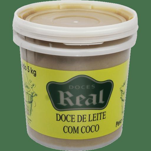 Doce de leite com coco
